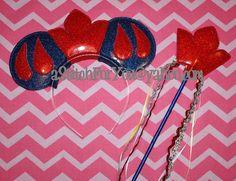 Mouse Ear Headband - Snow Princess Apple