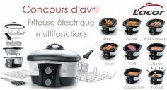 CONCOURS D'AVRIL: Gagnez une FRITEUSE ELECTRIQUE MULTIFONCTIONS