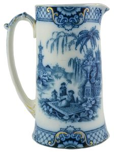 Water Jug Oriental Decor - English 19th Century