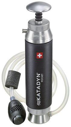 Le katadyn pocket est le seul filtre portable au monde 224 b 233 n 233 ficier