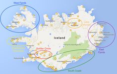 An amazing resource for planning your Ring Road road trip around Iceland!