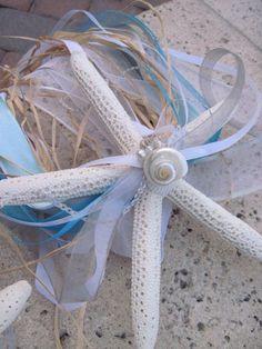 Simple Pencil Starfish Bridesmaid Bouquet for by iDoArtsyWeddings, $38.00