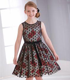 From CWDkids: Rose Dot Dress
