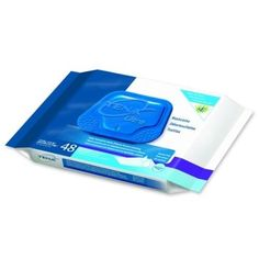 Tena Washcloths 7.9 x 12.4 in./Case of 48 [Health and Beauty]
