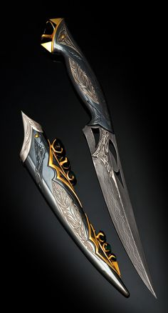 Impeccable handwork is nothing more to say here. Go to our store and find his brother - Quartz spawn Ninja Weapons, Anime Weapons, Weapons Guns, Pretty Knives, Cool Knives, Swords And Daggers, Knives And Swords, Armes Concept, Espada Anime