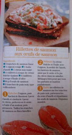 Rillettes saumon oeuf @LauryRow.