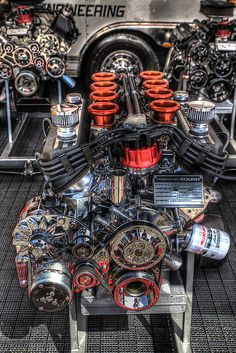 Most powerful diesel engine in the world – Image 3 of 8 – Car Racing & Car Classic Porsche 911 Gt2, Auto Motor Sport, Motor Car, Design Garage, Performance Engines, Race Engines, Combustion Engine, Car Engine, Mechanical Engineering