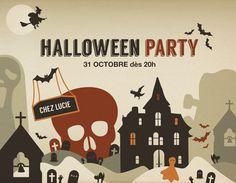 Halloween Party by Sylvie Tunez, via Behance
