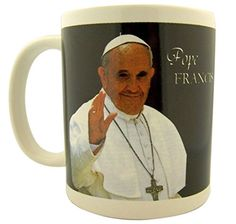 Catholic Leader Pope Francis Ceramic Coffee Mug 10 Ounce *** Read more at the image link.