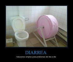 Solución a la diarrea.