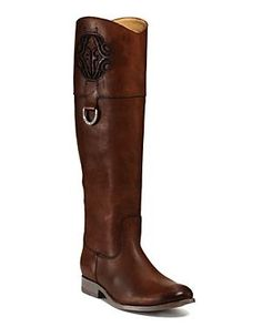 Frye Melissa Riding Boots - Pinned from @Glossi, a free digital magazine creation platform