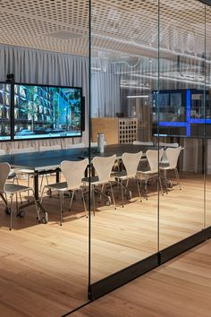 Leading Architecture firm Fitzpatrick + Partners have used DecorLux Max in their sleek studio renovation in Castlereagh Street in Sydney's CBD. Acoustic Panels, Studio, Architecture, Street, Table, Projects, Room, Furniture, Home Decor