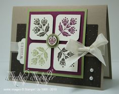 WMW Four-Square Wishes by Wendybell - Cards and Paper Crafts at Splitcoaststampers