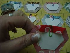 """Hexie Tutorial Part 1 I am a hexagon addict, so thought I'd pass this to my """"wanna be an addict"""" friends ;-)"""