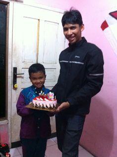 Happy birthday kak ulung  By: digo
