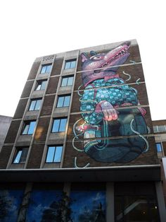 See No Evil Project - Aryz, Nelson Street, Bristol, UK,  Photo: caratello