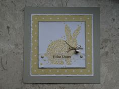 Happy Easter, Easter Bunny, Diy Wedding Shoes, Easter Crafts For Kids, Easter Ideas, Creative Cards, Stampin Up, Card Making, Spring