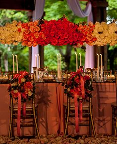 #PinkOmbre   Ricky Whitley Bridal Events Florist   Nick Frontiero Photography   #AlabamaWeddings