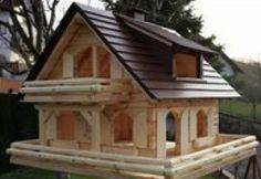 Large Bird Houses, Wooden Bird Houses, Bird House Feeder, Bird Feeders, Teapot Birdhouse, Small Log Cabin, Barn Wood Projects, Diy Woodworking, Garden Art