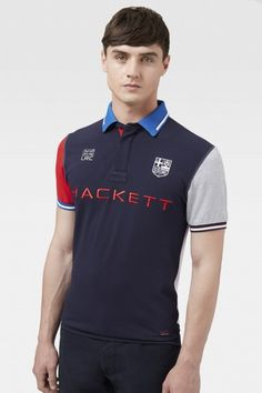London Rowing Club Multicolour Polo - Polo Shirts & Rugby - Shop By Product - Men | Hackett