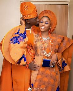 Ghana Wedding Dress, African Wedding Attire, African Attire, African Dress, African Lace, Nigerian Traditional Wedding, Traditional Wedding Attire, African Traditional Dresses, African Inspired Fashion