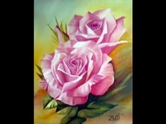 Acrylic Painting Techniques, Painting Videos, Acrylic Painting Canvas, Drawing Techniques, Tole Painting, Painting & Drawing, Watercolor Paintings, Spring Painting, Pictures To Paint