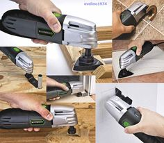 New Multi-Purpose Oscillating Tool, Sanding Pad, Scraper /Cut/Wood/Drywall Blade Grout Remover, Grout Removal Tool, Oscillating Tool, Ideal Tools, Backyard Garden Design, Drywall, Dremel, Blade