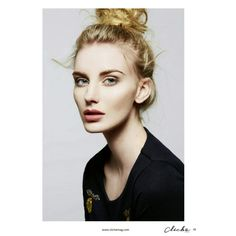 Photo by Luke Schneider for Cliche Magazine. Hair and Makeup by Andrea C. Samuels. Messy bun.