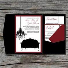 Old Hollywood Weddings Invitation - Bing Images