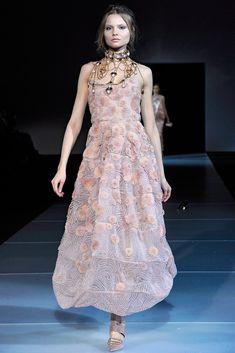 Giorgio Armani Fall 2011 Ready-to-Wear Fashion Show - Magdalena Frackowiak
