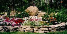 Landscaping with Rocks for Backyard : Rock Garden Landscaping Home Landscaping, Landscaping With Rocks, Colorado Landscaping, Landscape Design, Garden Design, Flower Beds, Dream Garden, Lawn And Garden, Rocks Garden