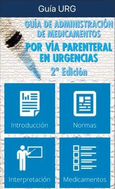 Acceso gratuito. Guía de administración de medicamentos por vía parenteral en urgencias