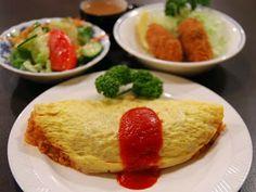 Tortilla rellena de arroz