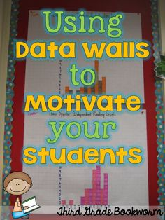 Bright Idea: Using Data Walls to Motivate Your Students-keeping track of not only individual student data but also class data.