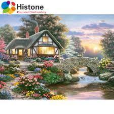 Resultado de imagen para cottages a punto de cruz