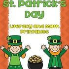 FREE! St. Patrick's Day Literacy and Math SAMPLE Printable Pack   ** Check out the full version of my St. Patrick's Day Literacy and Math Printable...