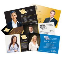 Silver Cold Foil Business Cards on 16 Point Price: $51.25 http://usacolorprinting.com