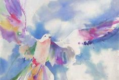 Absolutely love this dove painting by Lee Shapiro