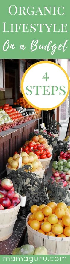 Organic Lifestyle ♥ Budget Friendly Organic ♥ Green Living ♥ Shopping Tips ♥ Healthy Lifestyle Tips