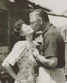 """Ava Gardner and Clark Gable """"Mogambo"""""""