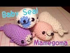 Loomigurumi baby seal! Comment if I should make this