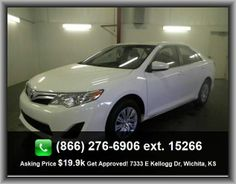 2012 Toyota Camry LE Sedan  Video Monitor Location - Front, 2.5 Liter Inline 4 Cylinder Dohc Engine, Knee Airbags - Driver And Passenger, Tilt And Telescopic Steering Wheel, Speed-Proportional Power Steering,