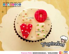 Cupcake de Chocolate decorado en fondant.