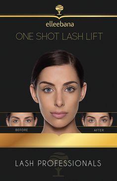 Elleebana Marketing Poster – Lash Lift Store by Elleebana Elleebana Lash Lift, Eyebrow Lift, Eyelash Lift, Mascara Tips, How To Apply Mascara, Permanent Eyelashes, Lash Tint, Tweezing Eyebrows, Beauty Lash