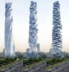Davinci Rotating Tower in Dubai!!