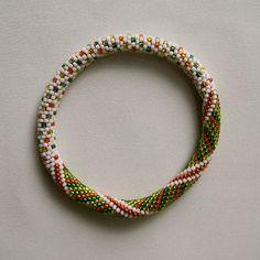 Bead Crochet Pattern: Little Dots and Spirals $7.50