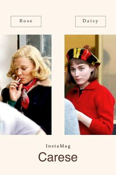 """Rooney Mara & Cate Blanchett in """"Carol"""""""