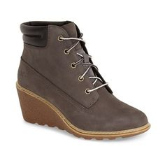"Timberland Earthkeepers 'Amston' Boot, 2 1/2"" heel ($104) ❤ liked on Polyvore…"
