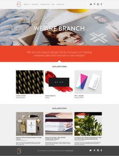 We Are Branch / portfolio website