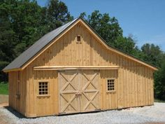Barn project photos for Ponderosa Country, Great Plains Western Horse, Eastern Horse & Gambrel Barns, Storage, Garage & Commercial Barns Shed Plans 12x16, Wood Shed Plans, Shed Building Plans, Barn Plans, Garden Shed Kits, Garden Storage Shed, Outdoor Storage Sheds, Garden Care, Shed With Loft